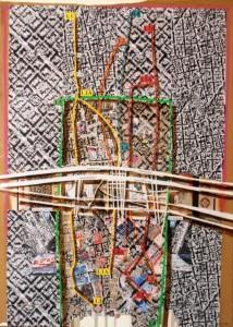 Καρακατσάνης_maps-2012-Athens-Barcelona-140X100cm
