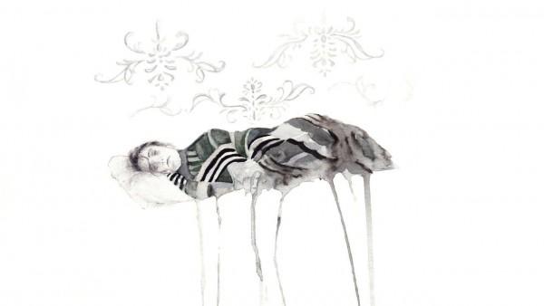 11.Άτιτλο,Σχέδιο με Ακουαρέλα, 29x39cm,2014