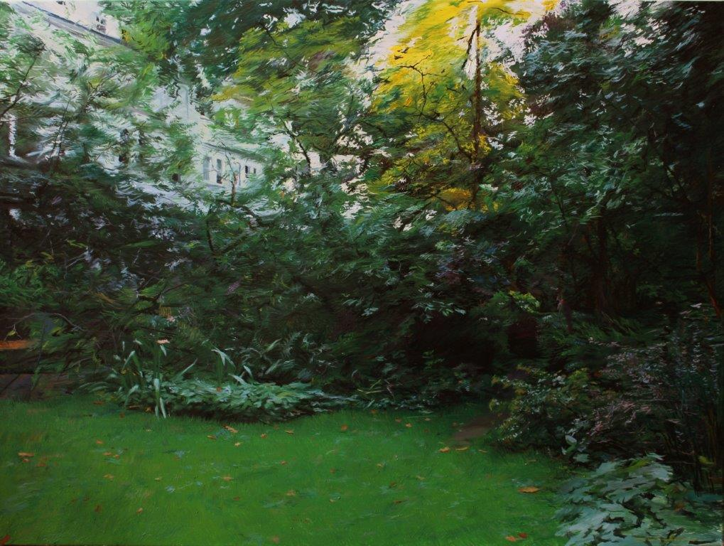 Private Paradise, 90x120cm, oil on canvas, 2017