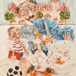 Θωμάς Τουρναβίτης_ λάδι σε καμβά_Commission in Modern Society_115x94 cm