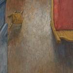 Αλεξάνδρα-Μπαρή,-Tο-Δωμάτιο,-λαδι-σε-μουσαμά,-99cm-×-37cm,-2017
