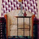 TECHNOHOROS ART GALLERY_Vassilis Karakatsanis_Carpets2_ 2017_acrylic, gouache & oil on canvas_120x80 cm_2.000 € (1)