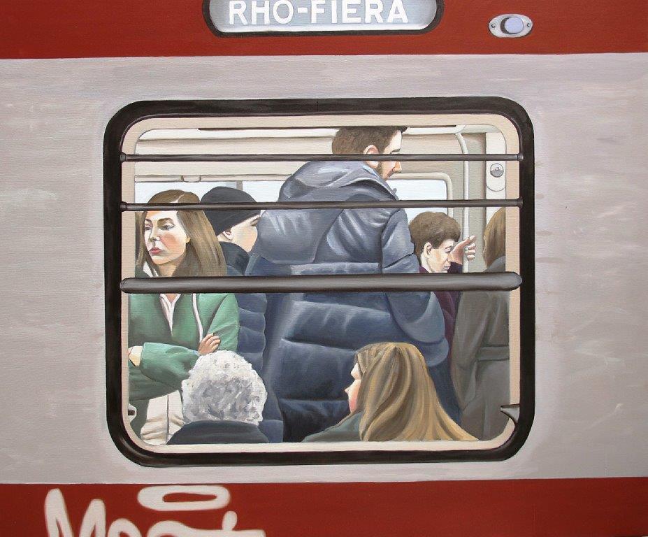 100x120cm, oil on canvas....