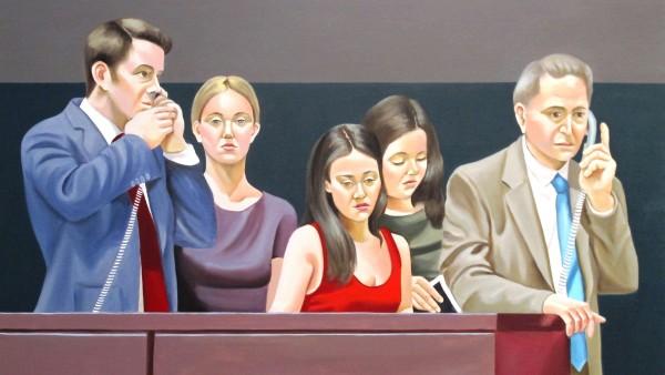 60x100 cm, oil on canvas