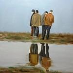 80x80cm, oil on canvas, έργο σε εξέλιξη