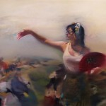 Survivor IV, 90x120cm, oil on canvas, 2019