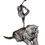 3_The tiger_Christina Tzani_Technohoros art gallery